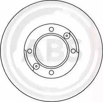 A.B.S. 15009 - Bremžu diski autodraugiem.lv