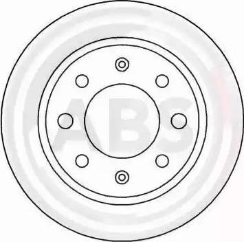 A.B.S. 15005 - Bremžu diski autodraugiem.lv