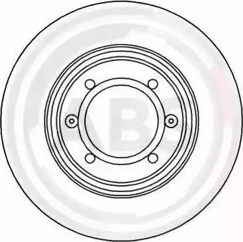 A.B.S. 15014 - Bremžu diski autodraugiem.lv