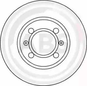 A.B.S. 15011 - Bremžu diski autodraugiem.lv