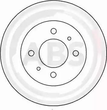 A.B.S. 15034 - Bremžu diski autodraugiem.lv