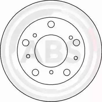 A.B.S. 15035 - Bremžu diski autodraugiem.lv