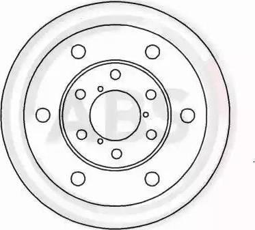 A.B.S. 15032 - Bremžu diski autodraugiem.lv