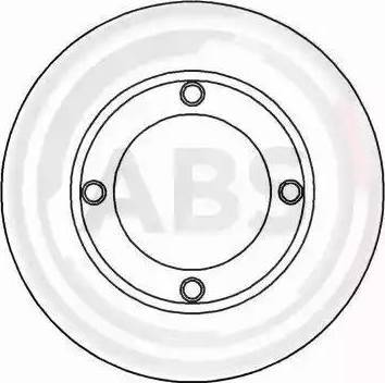 A.B.S. 15025 - Bremžu diski autodraugiem.lv