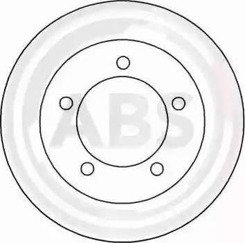 A.B.S. 15026 - Bremžu diski autodraugiem.lv