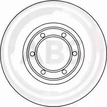 A.B.S. 15106 - Bremžu diski autodraugiem.lv