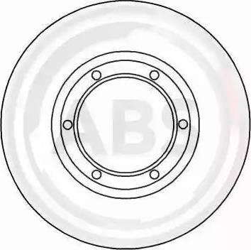 A.B.S. 15100 - Bremžu diski autodraugiem.lv