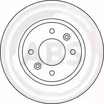 A.B.S. 15114 - Bremžu diski autodraugiem.lv