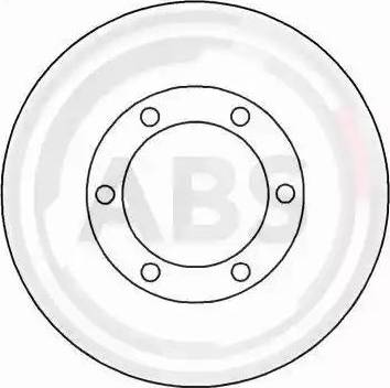 A.B.S. 15110 - Bremžu diski autodraugiem.lv