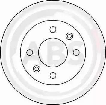 A.B.S. 15112 - Bremžu diski autodraugiem.lv