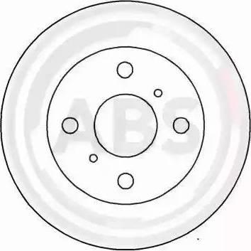 A.B.S. 15895 - Bremžu diski autodraugiem.lv