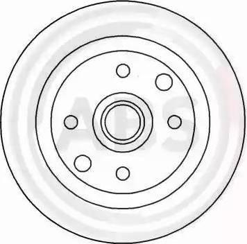 A.B.S. 15893 - Bremžu diski autodraugiem.lv