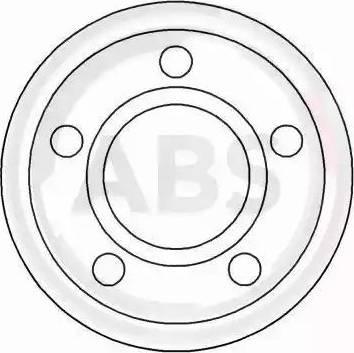 A.B.S. 15892 - Bremžu diski autodraugiem.lv