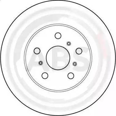 A.B.S. 15897 - Bremžu diski autodraugiem.lv