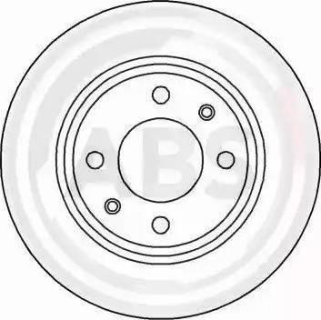 A.B.S. 15841 - Bremžu diski autodraugiem.lv