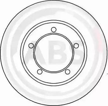A.B.S. 15843 - Bremžu diski autodraugiem.lv