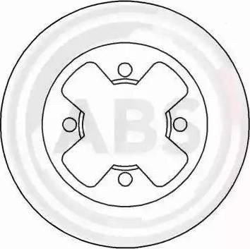 A.B.S. 15847 - Bremžu diski autodraugiem.lv