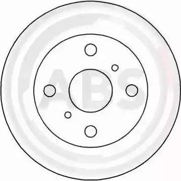A.B.S. 15856 - Bremžu diski autodraugiem.lv