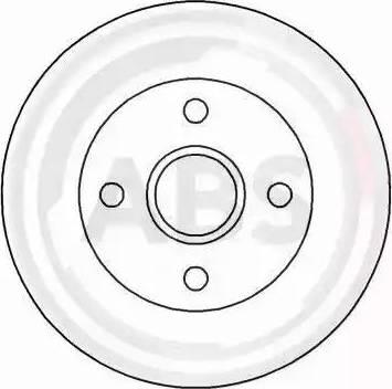 A.B.S. 15861 - Bremžu diski autodraugiem.lv