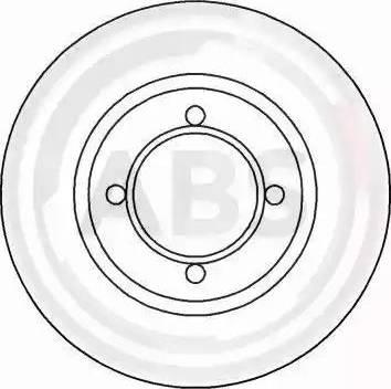 A.B.S. 15803 - Bremžu diski autodraugiem.lv