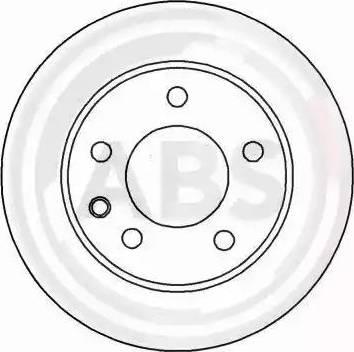A.B.S. 15819 - Bremžu diski autodraugiem.lv
