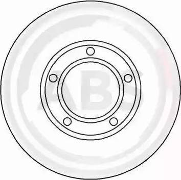 A.B.S. 15814 - Bremžu diski autodraugiem.lv