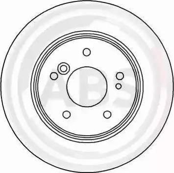 A.B.S. 15815 - Bremžu diski autodraugiem.lv