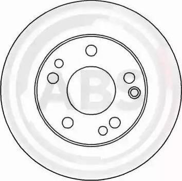 A.B.S. 15816 - Bremžu diski autodraugiem.lv