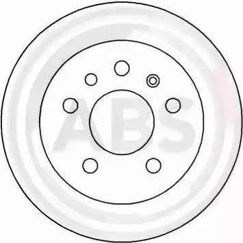 A.B.S. 15818 - Bremžu diski autodraugiem.lv