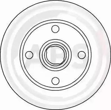 A.B.S. 15889 - Bremžu diski autodraugiem.lv