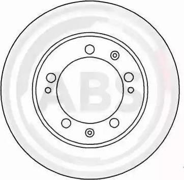 A.B.S. 15884 - Bremžu diski autodraugiem.lv