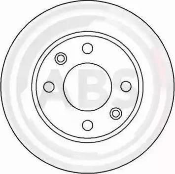 A.B.S. 15880 - Bremžu diski autodraugiem.lv