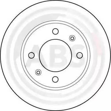 A.B.S. 15881 - Bremžu diski autodraugiem.lv