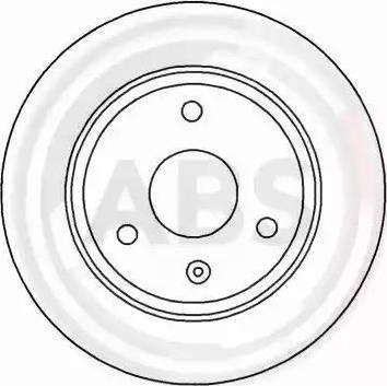 A.B.S. 15839 - Bremžu diski autodraugiem.lv