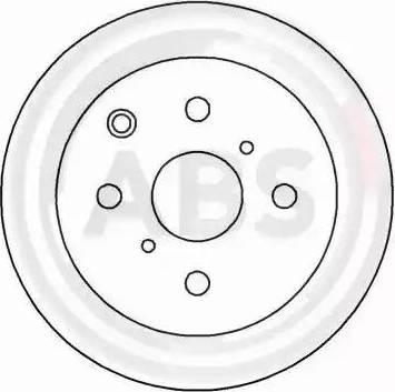 A.B.S. 15838 - Bremžu diski autodraugiem.lv