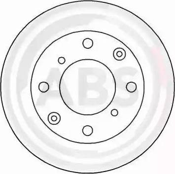 A.B.S. 15832 - Bremžu diski autodraugiem.lv