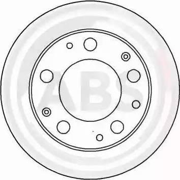 A.B.S. 15828 - Bremžu diski autodraugiem.lv