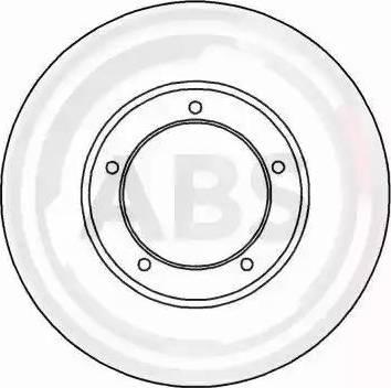 A.B.S. 15827 - Bremžu diski autodraugiem.lv