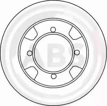 A.B.S. 15875 - Bremžu diski autodraugiem.lv