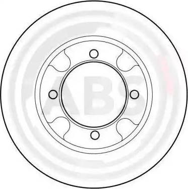 A.B.S. 15876 - Bremžu diski autodraugiem.lv