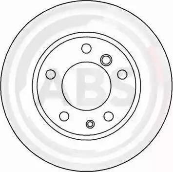 A.B.S. 15870 - Bremžu diski autodraugiem.lv