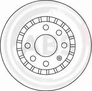 A.B.S. 15878 - Bremžu diski autodraugiem.lv