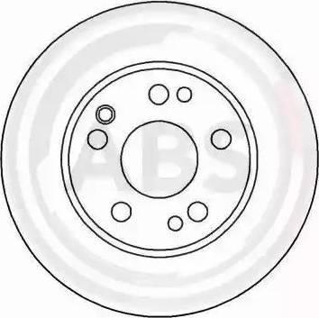A.B.S. 15877 - Bremžu diski autodraugiem.lv