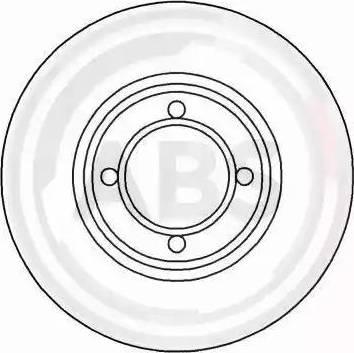A.B.S. 15308 - Bremžu diski autodraugiem.lv