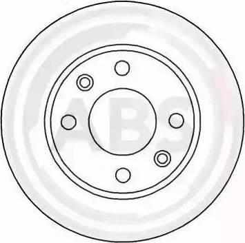 A.B.S. 15318 - Bremžu diski autodraugiem.lv