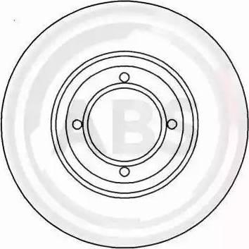 A.B.S. 15313 - Bremžu diski autodraugiem.lv