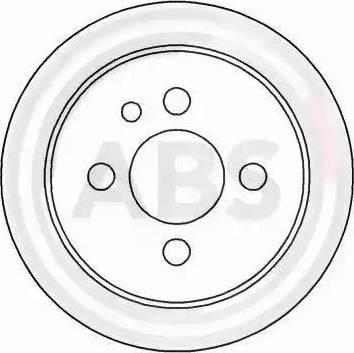 A.B.S. 15799 - Bremžu diski autodraugiem.lv