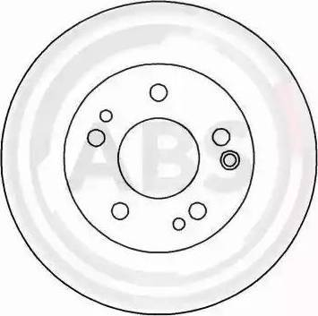 A.B.S. 15790 - Bremžu diski autodraugiem.lv