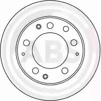 A.B.S. 15793 - Bremžu diski autodraugiem.lv
