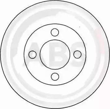 A.B.S. 15749 - Bremžu diski autodraugiem.lv